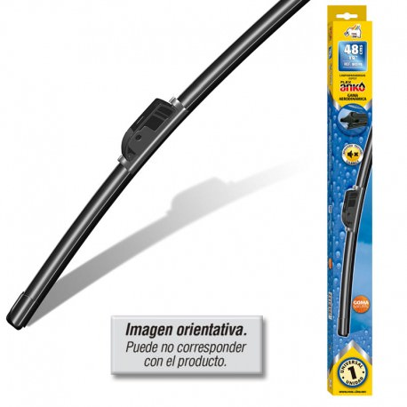 Escobilla limpiaparabrisas 48 cm flexible