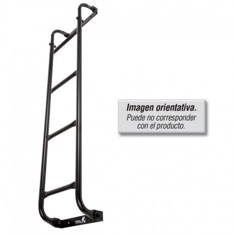 Escalera industrial metalica fija