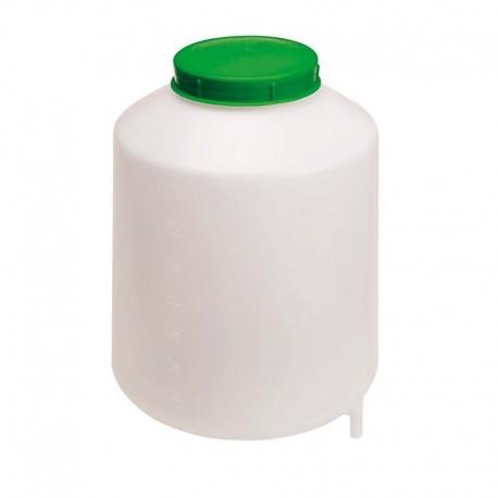 Deposito plastico 8 litros con filtro