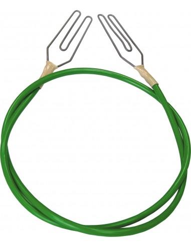 Conexion 2 hilos o 2 cintas con grapa