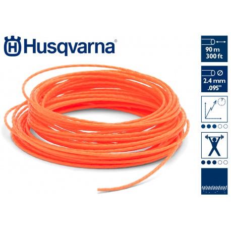 Hilo de corte Whisper 2,4 mm HUSQVARNA