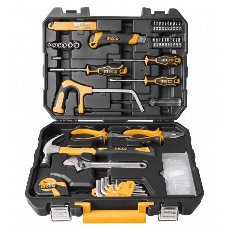 Caja herramientas 117 piezas INGCO