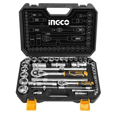 Caja herramientas 44 piezas INGCO