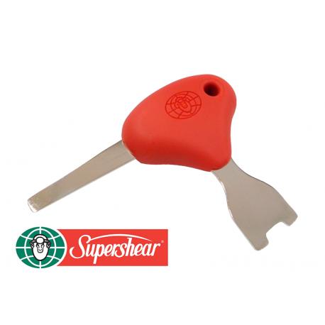 Destornillador de peines y cuchillas SUPERSHEAR